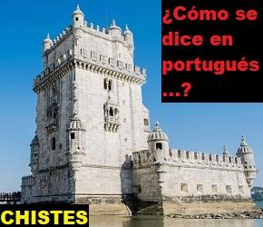 chistes cómo se dice en portugués